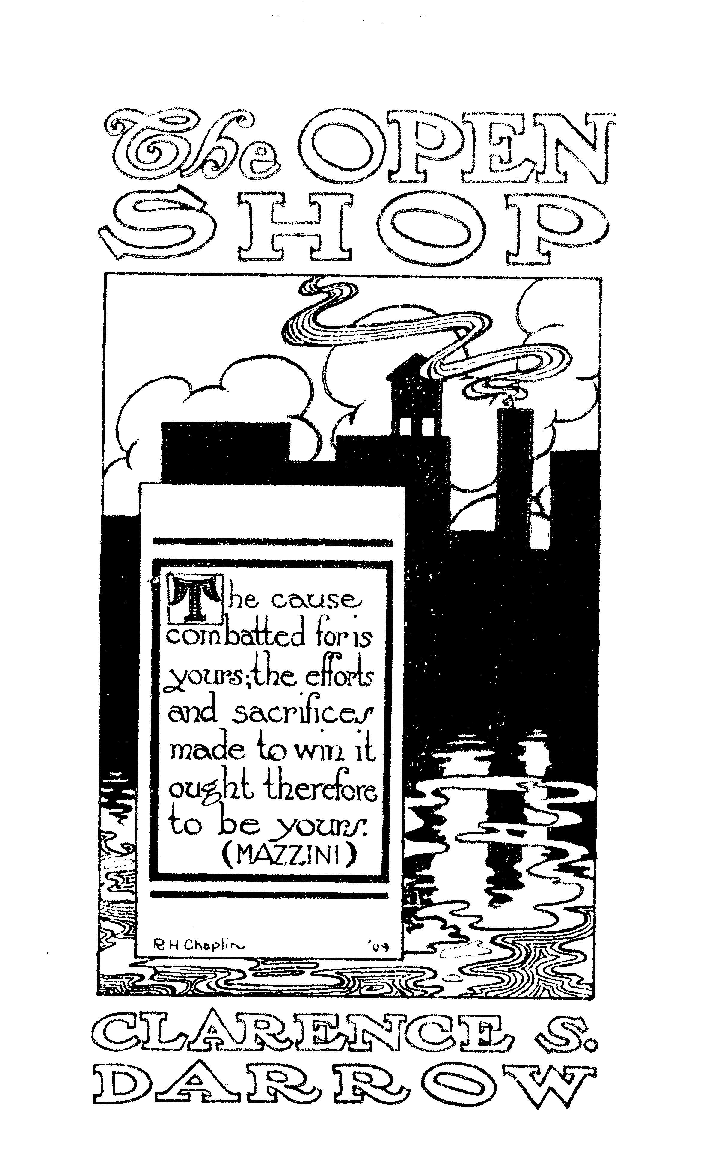 Cover of: The Open Shop