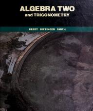 Cover of: Algebra Two and Trigonometry | Mervin Laverne Keedy