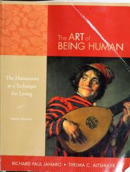 Cover of: The art of being | Richard Paul Janaro