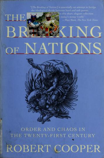 The breaking of nations by Cooper, Robert
