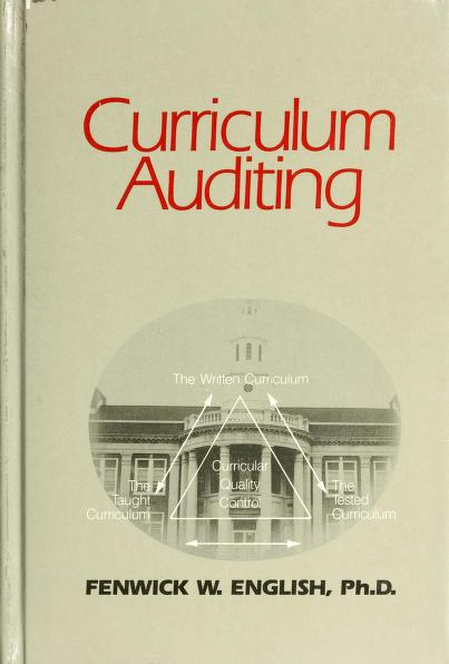 Curriculum auditing by Fenwick W. English
