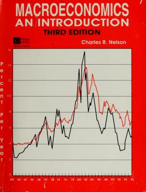 Cover of: Macroeconomics | Charles R. Nelson