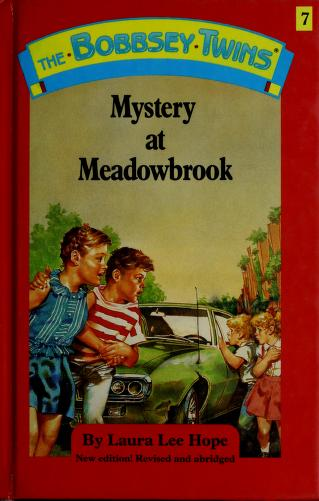 Cover of: Mystery at Meadowbrook | Laura Lee Hope