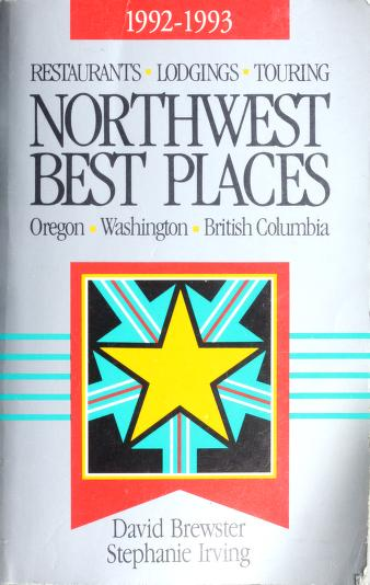 Cover of: Northwest best places | David Brewster