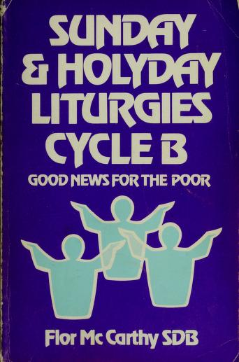 Cover of: Sunday and Holy Day Liturgies | Flor McCarthy