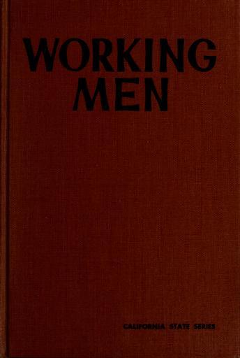 Cover of: Working men   Sidney Lens