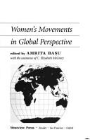 The challenge of local feminisms by edited by Amrita Basu, with the assistance of C. Elizabeth McGrory.