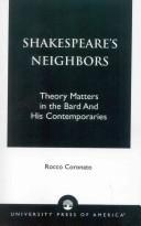 Shakespeare's Neighbors