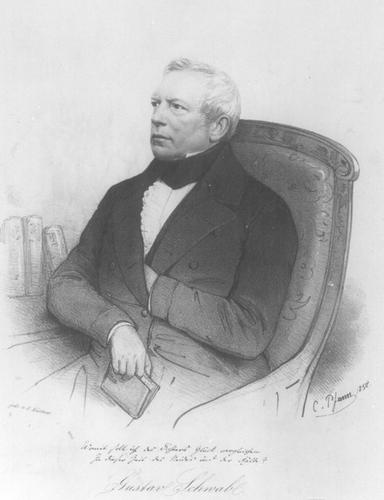 Photo of Gustav Schwab