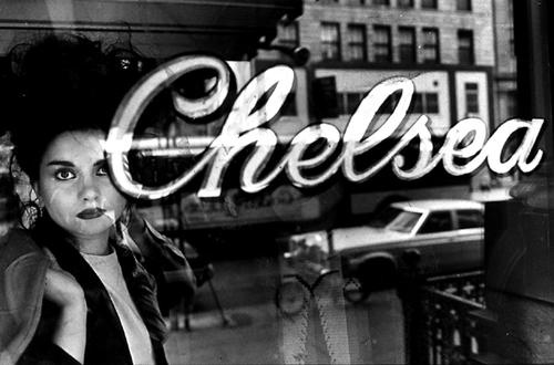 Chelsea Hotel by Claudio Edinger