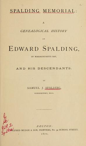 Spalding memorial