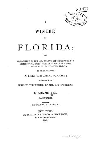 A winter in Florida