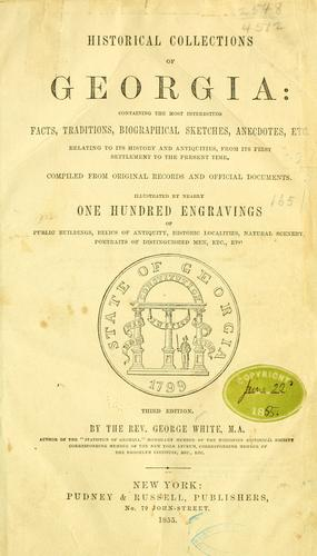 Historical collections of Georgia