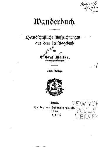 Wanderbuch.