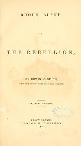 Rhode Island in the rebellion.