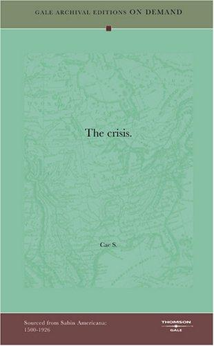 The crisis by Cae S.