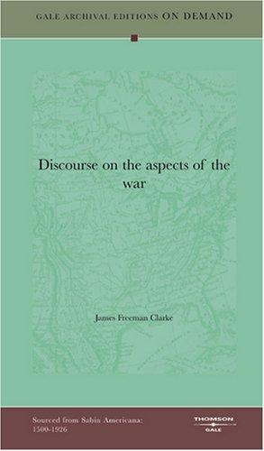 Discourse on the aspects of the war