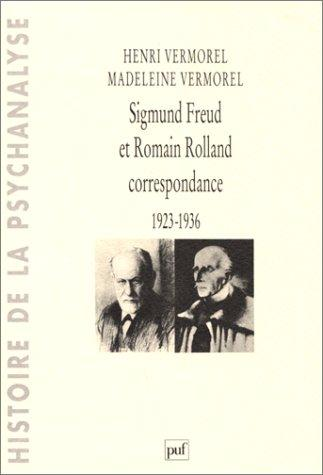 Sigmund Freud et Romain Rolland by Henri Vermorel