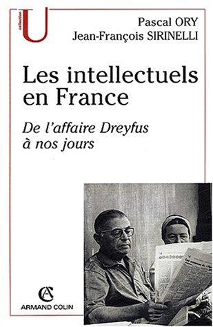 Les intellectuels en France by Ory