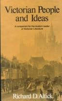 Victorian people and ideas by Richard Daniel Altick