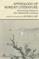 Anthology of Korean literature by compiled and edited by Peter H. Lee.