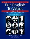 Contemporary's put English to work by Carole Etchells Cross