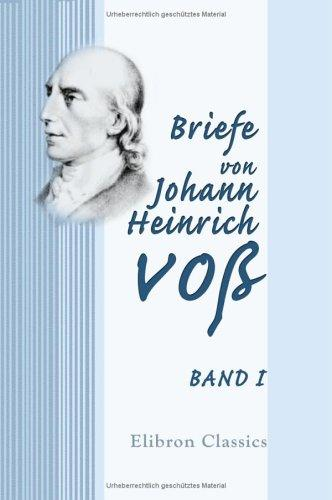 Briefe von Johann Heinrich Voß