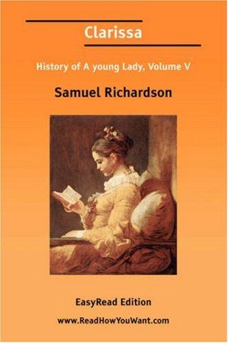 Clarissa by Samuel Richardson