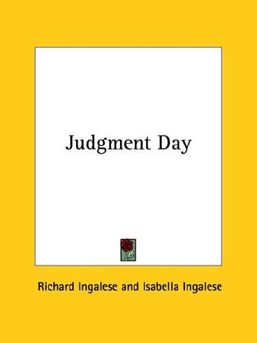 Judgment Day by Richard Ingalese