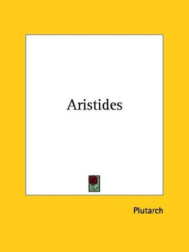Aristides by Plutarch