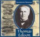 Thomas Edison (Gaines, Ann. Inventores Famosos.) by Ann Gaines
