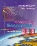 Computing Essentials 98-99 by O'Leary