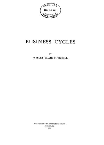 Business cycles.