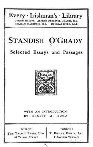 Standish O'Grady