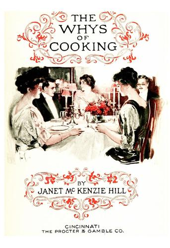 The whys of cooking by Janet McKenzie Hill