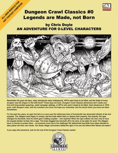 Dungeon Crawl Classics #0 by Chris Doyle