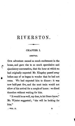 Riverston by Georgiana Marion Craik