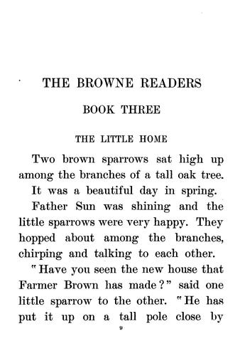 The Browne Readers by Ruby Wrede Browne