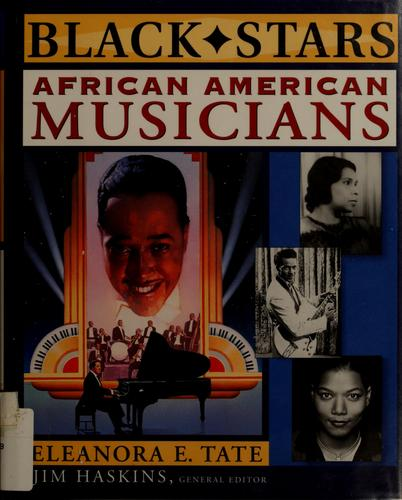African American musicians by Eleanora E. Tate