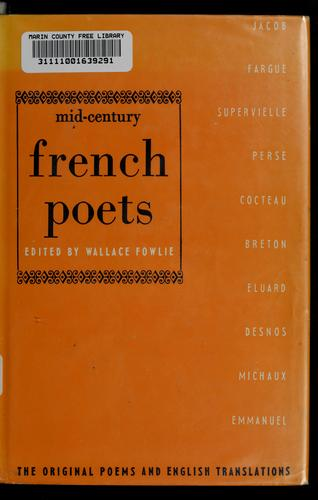 Mid-century French poets by Wallace Fowlie