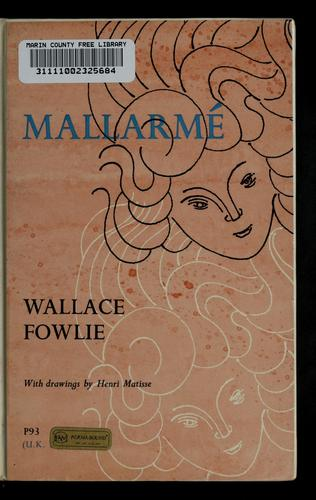 Mallarmé by Wallace Fowlie