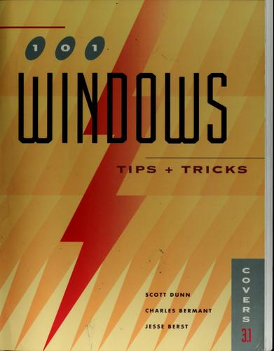 101 Windows tips & tricks by Scott Dunn