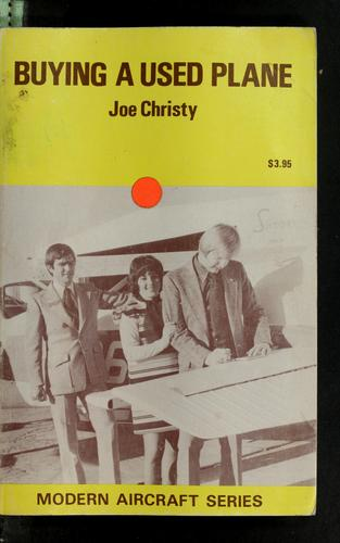 Buying a used plane by Joe Christy