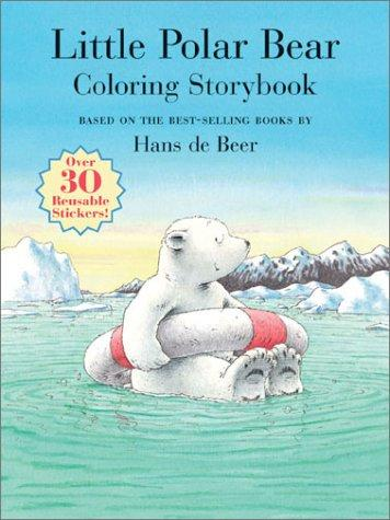 Little Polar Bear Coloring Storybook by North-South Staff