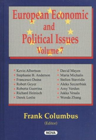 European Economic and Political Issues