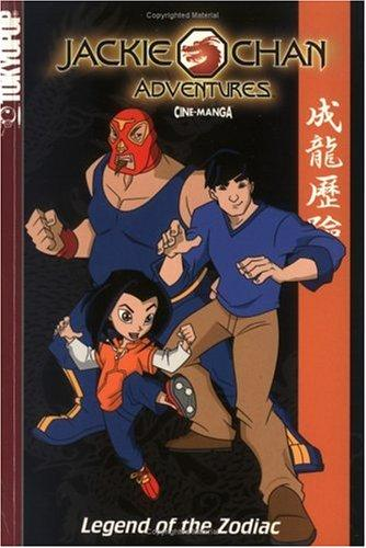 Jackie Chan Adventures by Tokyopop