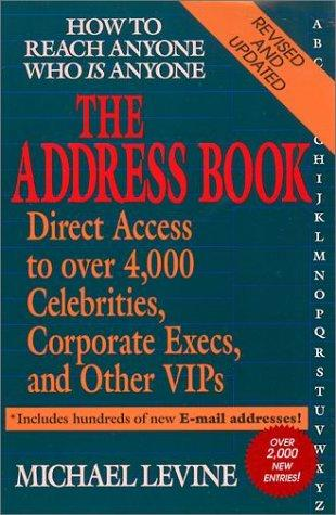 The Address Book by Michael Levine