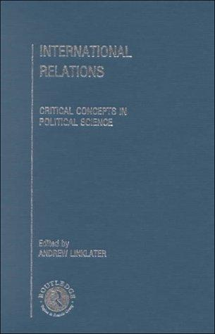 International Relations by A. Linklater