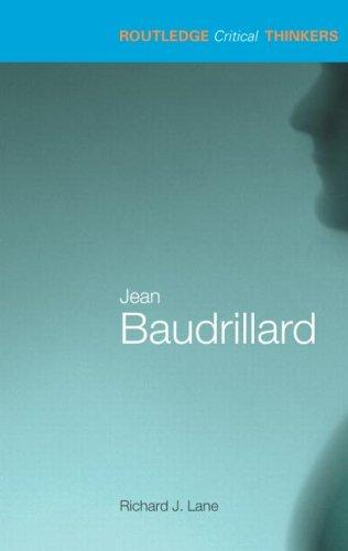 Jean Baudrillard by Lane, Richard J.