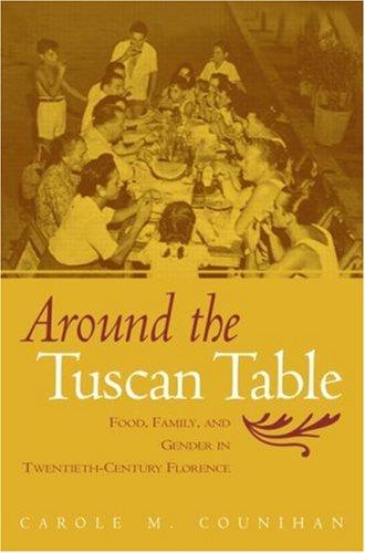 Around the Tuscan Table by Carole Counihan